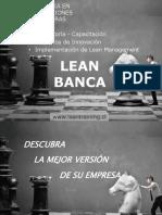 1 Lean Bancos