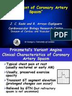 Management of Coronary Artery Spasm