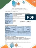 1. Guía de Actividades y Rúbrica de Evaluación - Fase 2 Leer y Analizar El Escenario Del Problema e Identificar Lo Que Se Conoce y No Se Conoce.