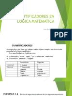 Cuantificadores en Logica Matematica