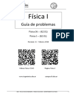 Guia de Problemas Rev 11  - Física 1 FIUBA