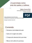 16- Uso de Porcinaza Como Fertilizante y Enmienda de Suelos