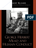 1-George Herbert Mead and Human Conduct