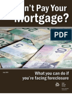Cant Pay Your Mortgage 2009