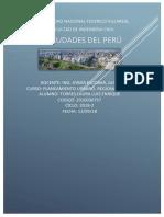 Ciudades Del Peru