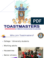 What is Toastmasters