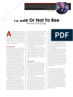 to bee or not to bee  the art of buzzing