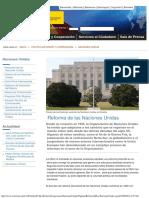 Reforma ONU