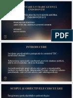Influenta bacilului koch asupra parodontiului prezentare ppt