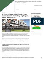Cómo conseguir Clientes para una inmobiliaria - Marketing digital para sector inmobiliario _ Blog sobre Marketing digital y diseño de páginas web en Lima, Perú.pdf