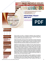 Industrial Policy 2005-2015