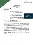 Bureau of Customs memo - Establishment Activation Reconstitution of the Preferential Rate Unit
