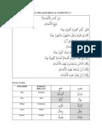 Nota Belajar Qiṣaṣ al-Nabiyyīn 1.1
