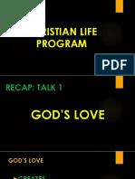 CLP TALK 1 GOD's LOVE.pptx