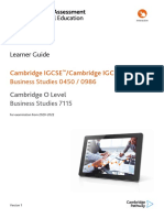 Business Studies Learner Guide