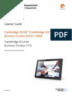 Business Studies Learner Guide