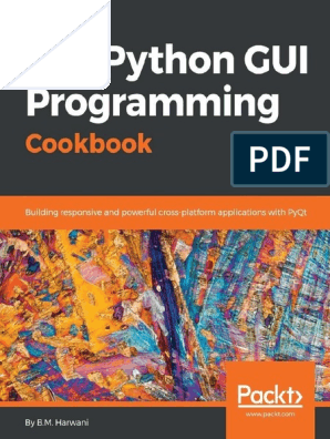 Qt5 Python gui Programming cook B M harwani | Button