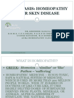 Homeopathic Psoriasis Doctor in Delhi- Aura Homeopathy Clinic India