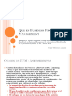 Que Es Business Process Management