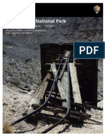 Death Valley National Park Historic [mining] Preservation Report Vol 1