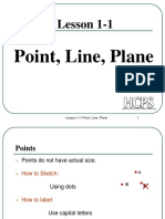 2. Points Lines and Planes
