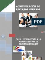 Cap i - Introduccion Administración Recursos Humanos (1)