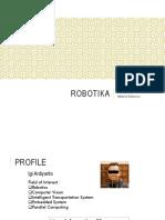 Robotika #1 - Introduction to Mobile Robotics
