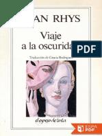 Viaje a La Oscuridad - Jean Rhys (3)