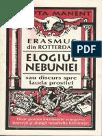 Erasmus din Rotterdam - Elogiul nebuniei.pdf