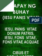 13 Communion Songs - Tinapay Ng Buhay (Iesu Panis Vitae)