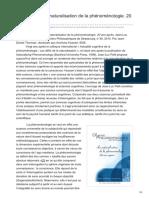 implications-philosophiques.org-Recension  La naturalisation de la phénoménologie 20 ans après