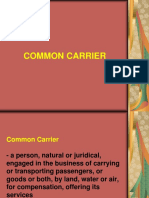 Common Carrier ppt