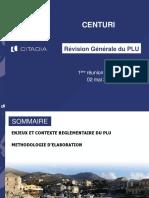 PLU Centuri Réunion publique mai 2018