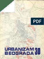 Časopis Urbanizam Beograda 30