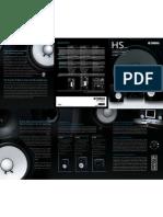 HS Speaker Brochure 0801