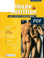 Methode de Nutrition Gerer l Equilibre