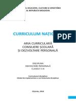 Dp Gimnaziu 2018-08-24 Curriculum Ghid