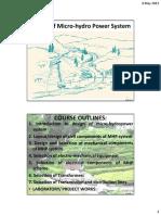 1. Design of MHP System.pdf