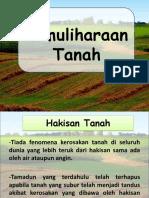 Pemuliharaan tanah