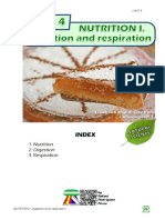 Student's Booklet - NUTRITION I (Digestion and Respiration)