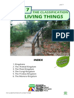 Student's Booklet - The Classification of Living Things