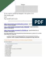 Python Tips