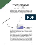 Economía Perú. 04 1998