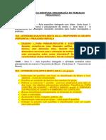 AVALIAÇÕES DA DISCIPLINA ORGANIZAÇÃO DO TRABALHO PEDAGÓGICO.docx