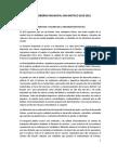Plan de Gobierno Democracia Directa San Bartolo