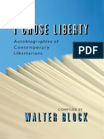 Walter Block-I Chose Liberty_ Autobiographies of Contemporary Libertarians-Ludwig Von Mises Institute (2010)