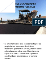 Control de Calidad en Pavimentos Flexibles