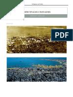 Ciudades Antiguas y Actuales de israel