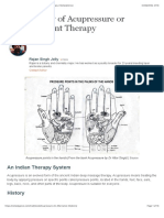An Overview of Acupressure or Pressure Point Therapy | RemedyGrove