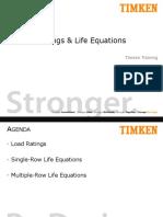 3. Apres Lab Motores Pav Mec III - Bearing Ratings and Life Equations